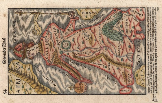 Europe_As_A_Queen_Sebastian_Munster_1570
